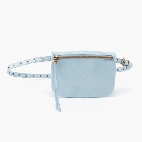 SAUNTER Belt Bag Color: Whisper Blue collection with 1 products