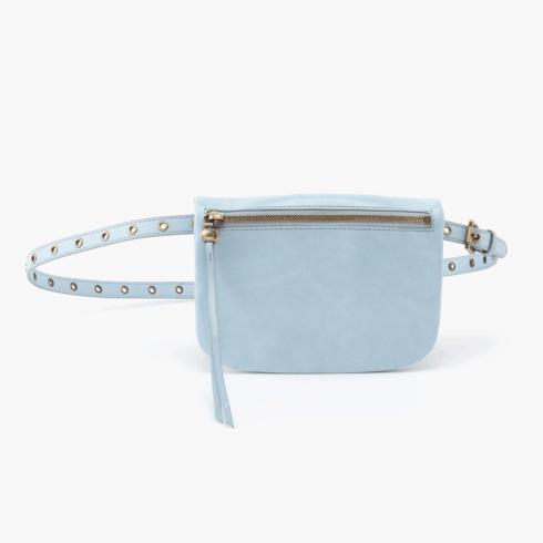 $168.00 SAUNTER Belt Bag Color: Whisper Blue