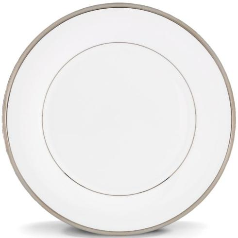 "$36.00 Solitaire White 10.75"" Dinner Plate"