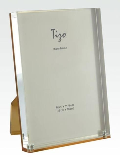 Elizabeth Clair\'s Unique Gifts  Frames Tizo Lucite Photo Frame Gold Back $46.95