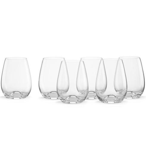 Lenox  Tuscany Classics® 6-piece Stemless Wine Glass Set $49.95