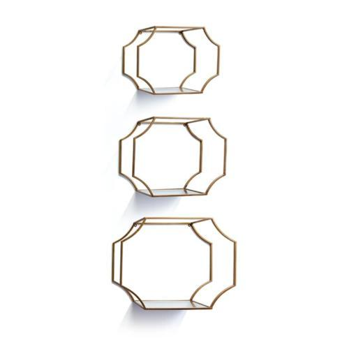 Napa Home & Garden   Hudson Mirrored Wall Shelves –Set Of 3 By Napa Home & Garden $187.95