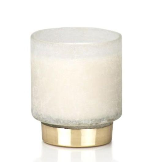 Zodax  Candles White 11 oz Scented Jar Candle - Tobacco Flower Absolute $26.95
