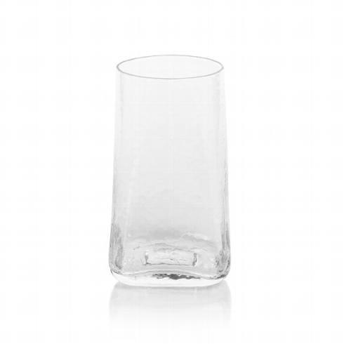 Zodax   Kallos Hammered Highball Glass $12.95