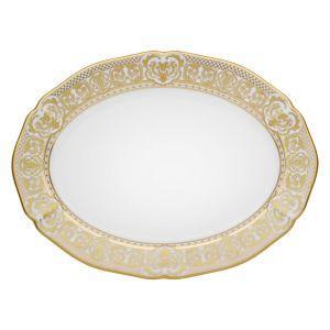 """$210.00 14"""" Oval Platter"""