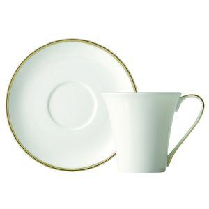 Prouna   Comet Gold Cup and Saucer $55.00