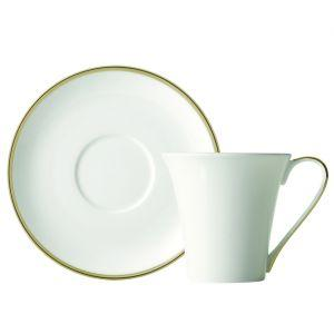 Prouna   Comet Gold Espresso Cup and Saucer $45.00
