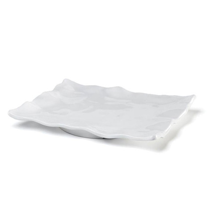 "Q Squared   Ruffle 15"" x 12"" Small Rectangle Serving Platter $42.95"