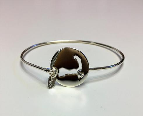 STERLING SILVER CAPE COD DISC BRACELET collection with 1 products