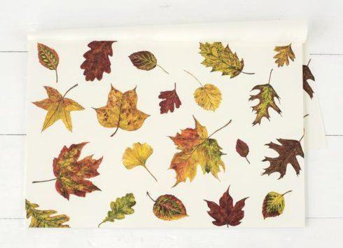 $29.95 Fall Foliage Paper Placemat
