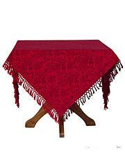 Red Jacquard Tablecloth collection with 1 products