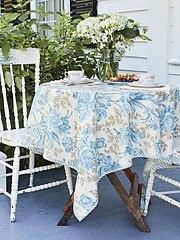$78.00 Grace Table Cloth - Oil 52X72