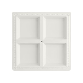 Square Melamine Divided Platter collection with 1 products