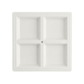 $47.95 Square Melamine Divided Platter