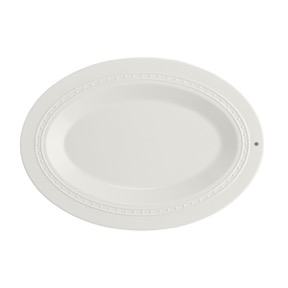 $47.95 Oval Melamine Server