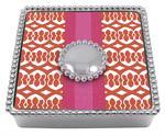 Mariposa   Margot Beaded Napkin Box $48.00