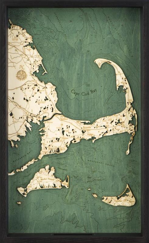$109.95 Cape Cod Map Tray