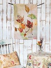 $18.00 Autumn leaves Tea Towel