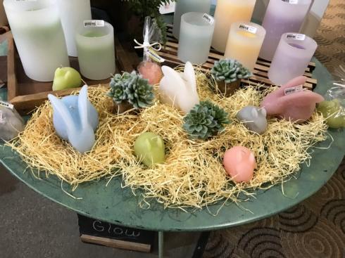 $14.95 Bunny Candle