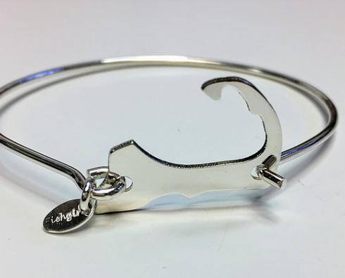 STERLING SILVER CAPE COD MAP BRACELET collection with 1 products