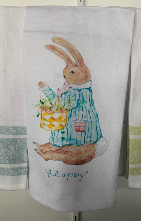 $18.95 Flopsy Tea Towel