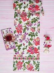 Greta's Garden Runner- Ecru collection with 1 products