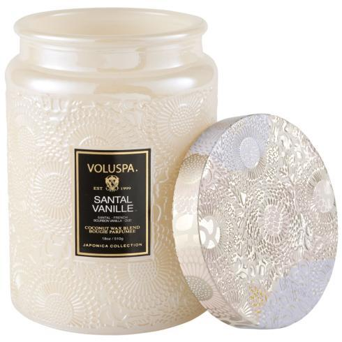 Santal Vanille  Large Jar Candl collection with 1 products
