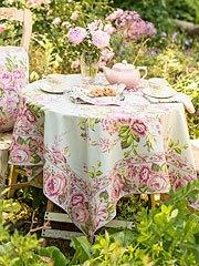 Vivian Table Cloth 54X54- Sage collection with 1 products
