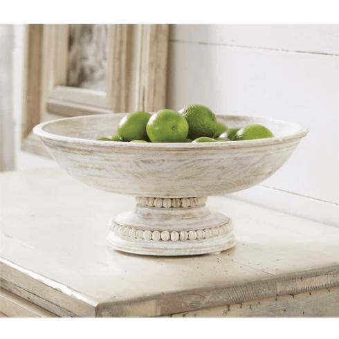 $56.98 Beaded Pedestal Serving Bowl