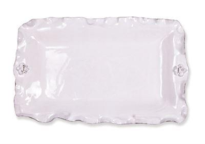 $115.00 Fleur de Lis Rectangular Platter