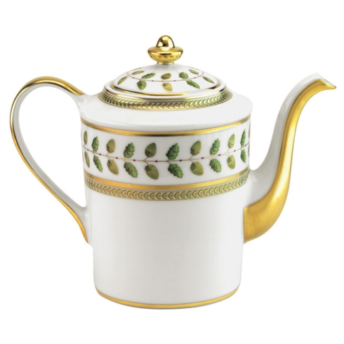 Bernardaud  Constance Green (Classic Table) Coffee Pot $825.00