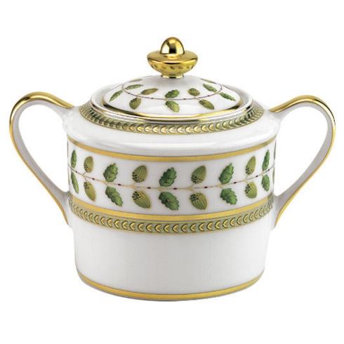 Bernardaud  Constance Green Sugar Bowl $635.00