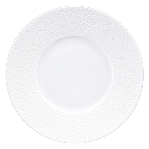 Bernardaud  Ecume White (White Table) Bread and Butter Plate $37.00