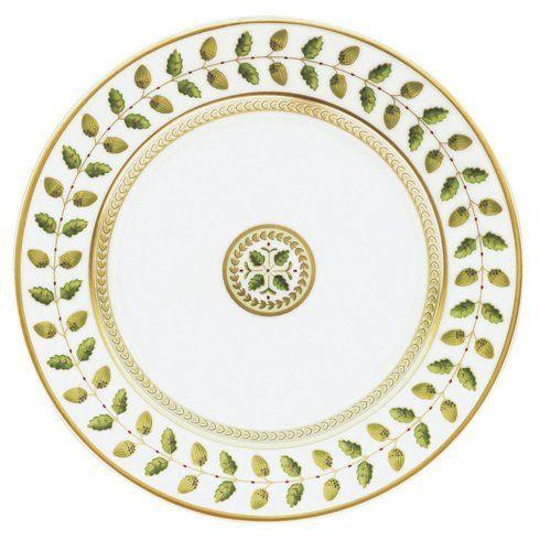 Bernardaud  Constance Green (Classic Table) Bread and Butter Coupe Plate $105.00