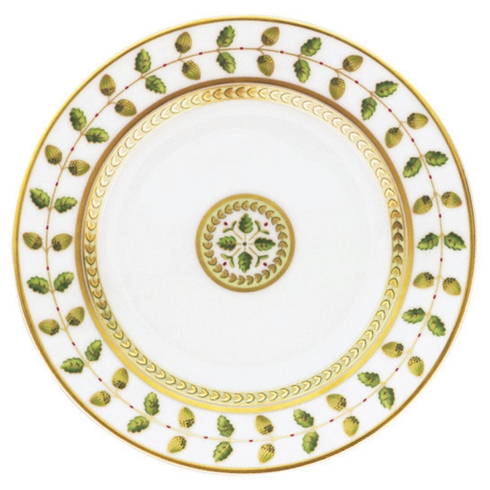 Bernardaud  Constance Green (Classic Table) Dinner Plate $150.00