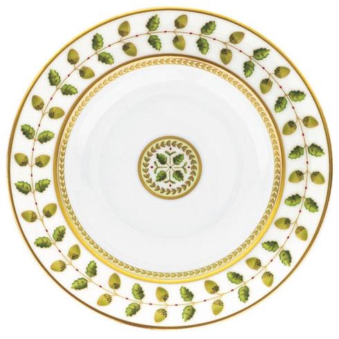 Bernardaud  Constance Green Rim Soup Bowl $150.00