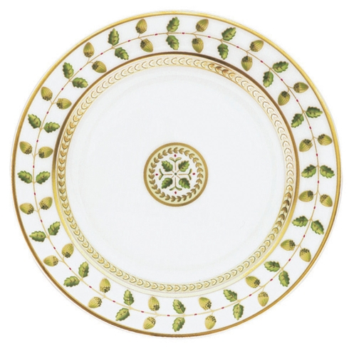 Bernardaud  Constance Green (Classic Table) Salad Plate $120.00