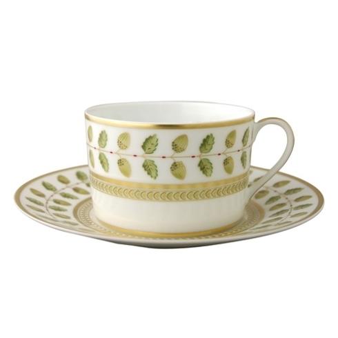 Bernardaud  Constance Green (Classic Table) Tea Saucer $60.00