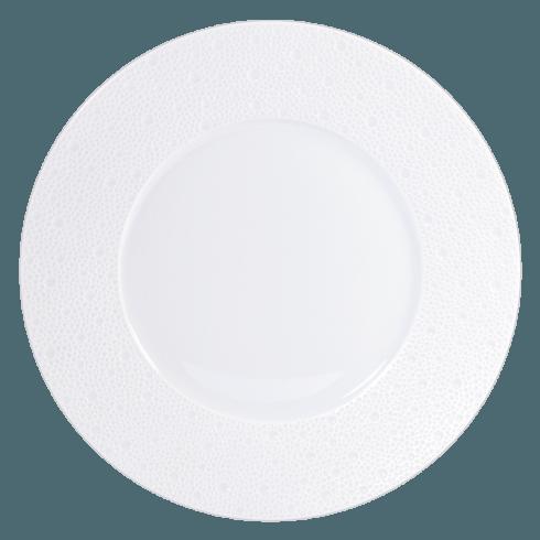 Bernardaud  Ecume White (White Table) Dinner Plate $57.00