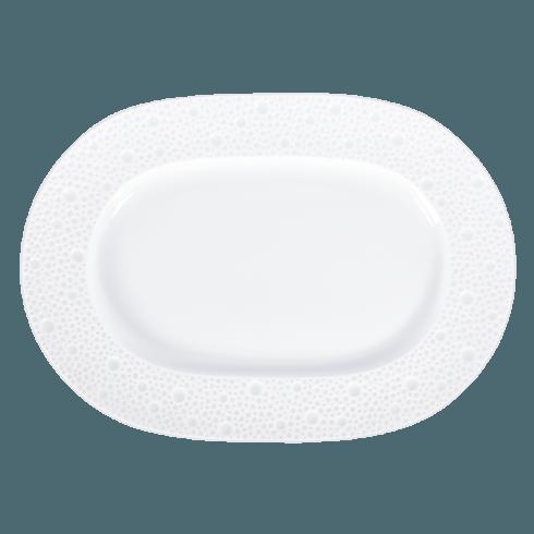 Bernardaud  Ecume White (White Table) Relish Dish $103.00