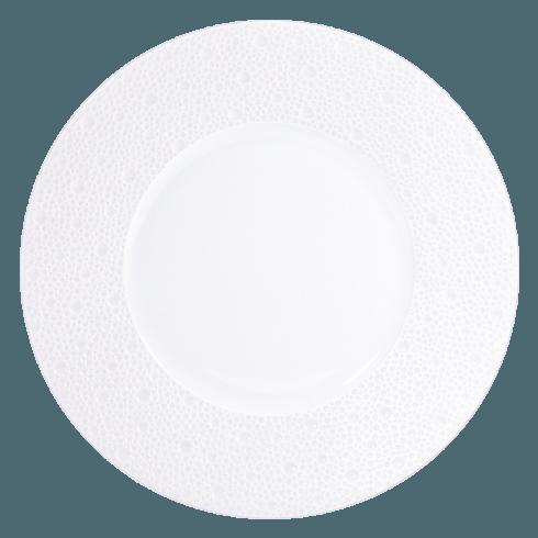 Bernardaud  Ecume White (White Table) Salad Plate $47.00