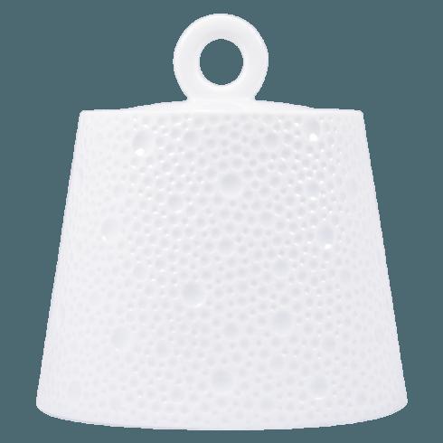 Bernardaud  Ecume White (White Table) Sugar Bowl $248.00