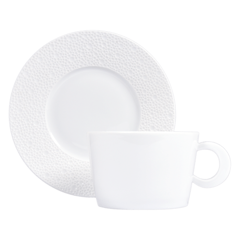 Bernardaud  Ecume White (White Table) Breakfast Saucer $50.00