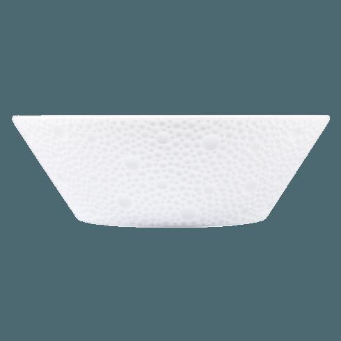 Bernardaud  Ecume White (White Table) Fruit Saucer/High Candy Dish $59.00