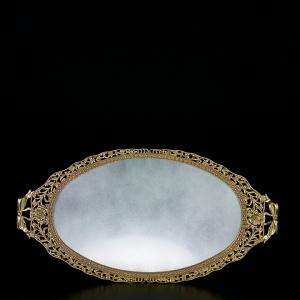 Elias Artmetal   Vanity Tray $219.00