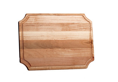 "$41.00 Small Scalloped 9 x 12"" Cutting Board"