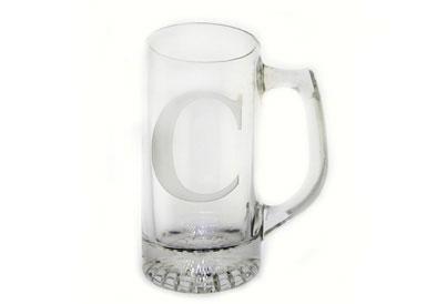 Neuwirth  Monogram Crystal Barware Beer Mug Set of 4 $64.00
