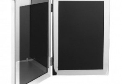 Pewter Double Frame