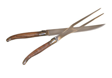 Laguiole   Rosewood Handle Carving Set $90.00