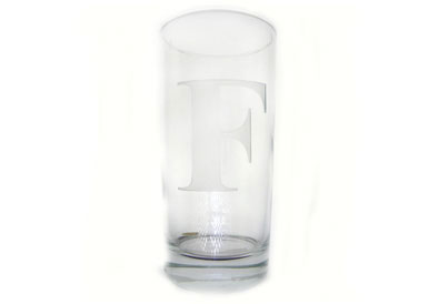 Neuwirth  Monogram Crystal Barware Highball Set of 4 $60.00